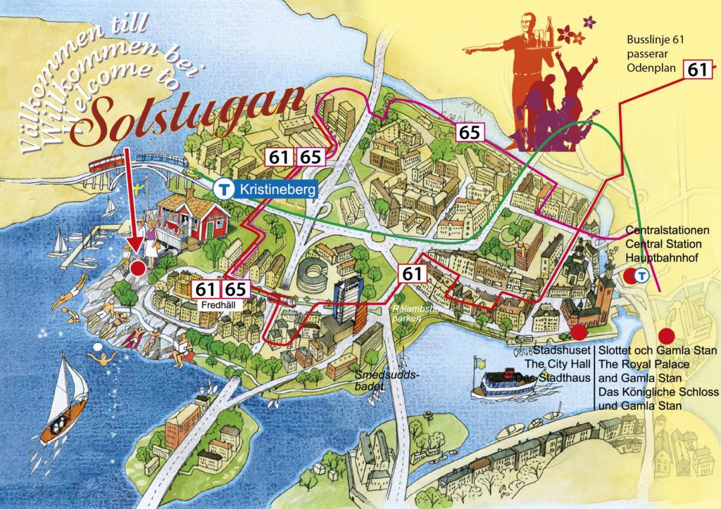 Karta över Kungsholmen